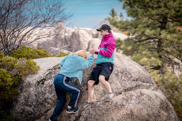 Lizzie Climb Pt. 1