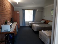 3 single room