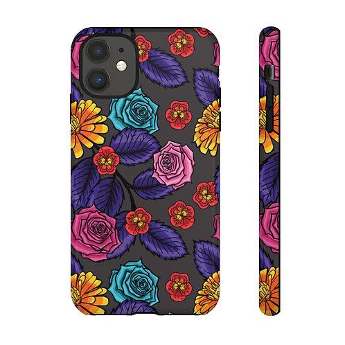 Flora_ Tough Phone Cases
