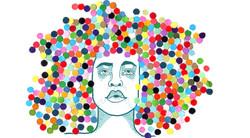 Portrait of Erikah Badu