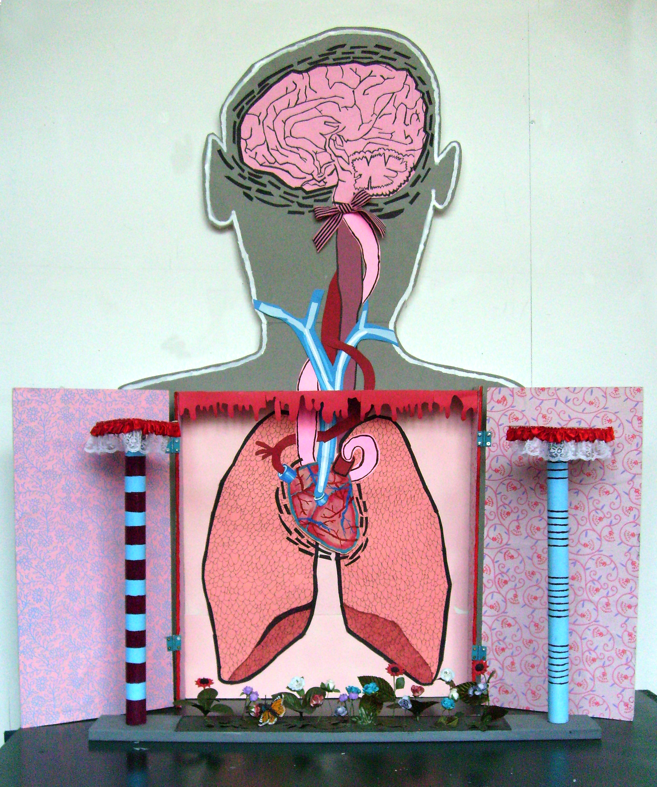 brain sculpture
