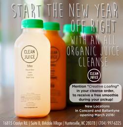 1-4V clean juice