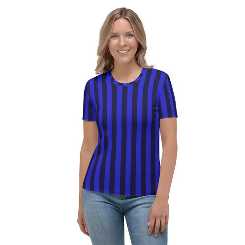 Saphire Stripe Women's T-shirt