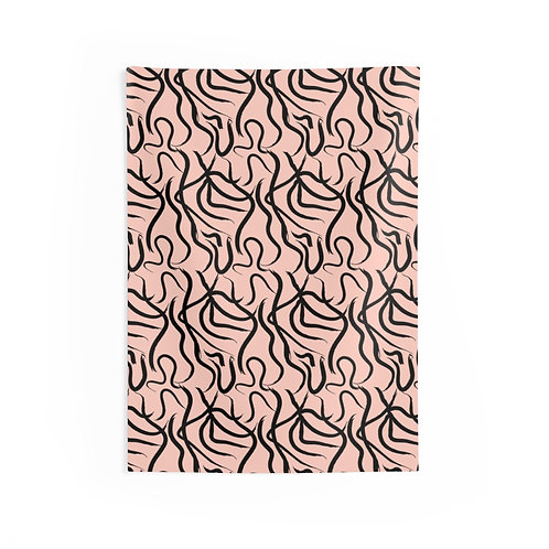 BLAIR_HD2_Rose_Indoor Wall Tapestries