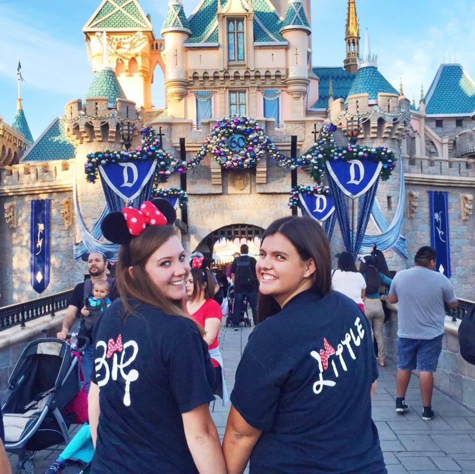 #hpoe Big/Lil Disneyland trip