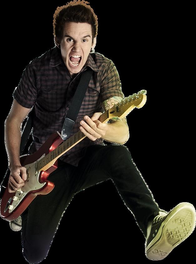 Alunos barulhentos, escola de música, liberdade, guitarra