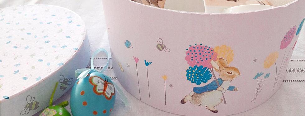 Bunny mugs in Beatrix Potter gift box, beautiful present