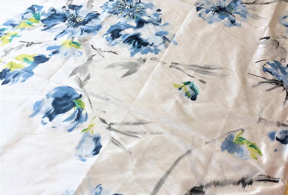 Designers Guild Silk Oriental Flowers Fabric