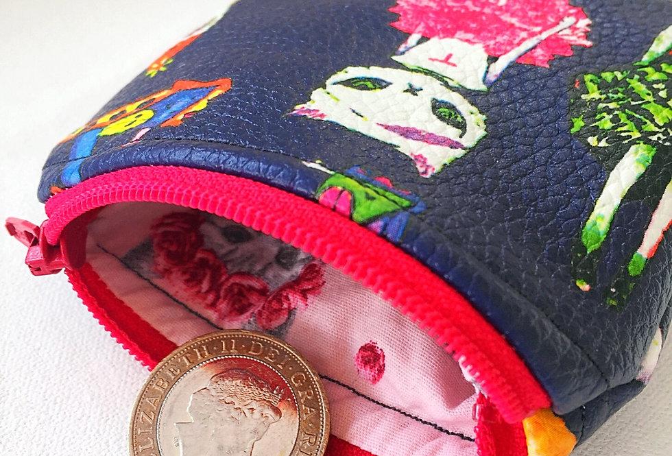 Super cute cat coin purse