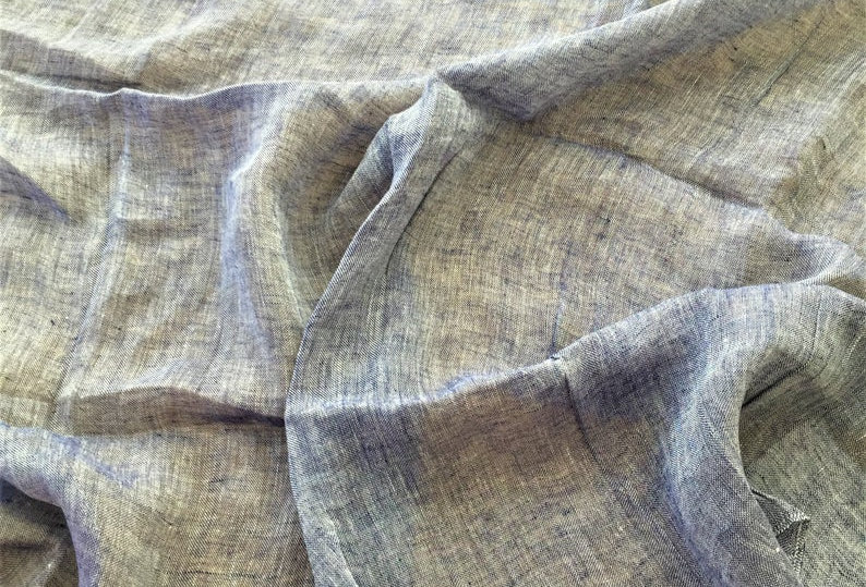 Fantastic Ralph Lauren Pomponio Sheer Indigo Fabric