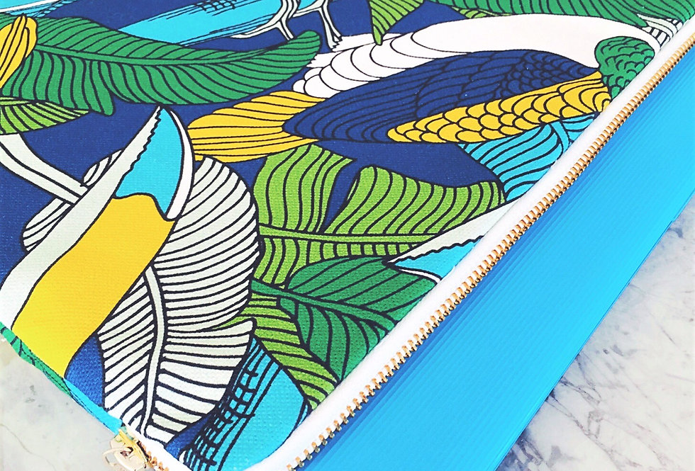 "Laptop Sleeve - Toucan bird - 13"""