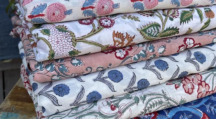 The Prettiest Block Print Fabrics