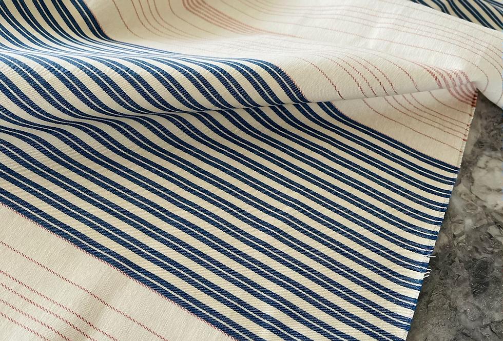 "Ralph Lauren ""Gin Beach"" Ticking Stripe Fabric"