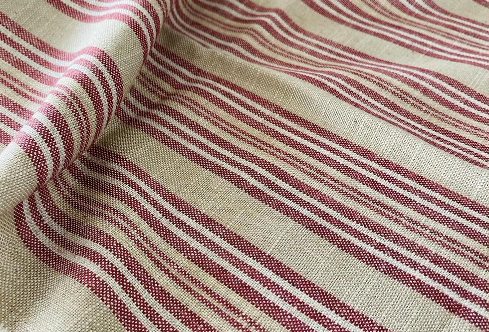 Ian Mankin Jura Stripe Fabric