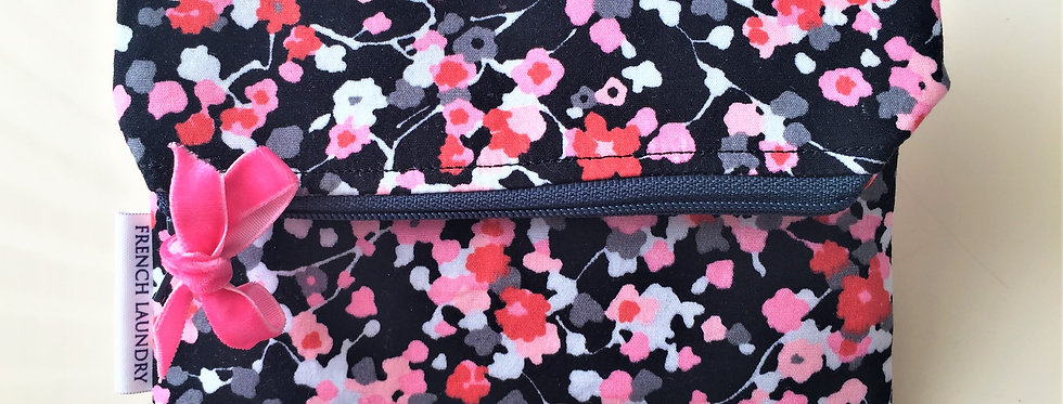 Small bright floral pochette