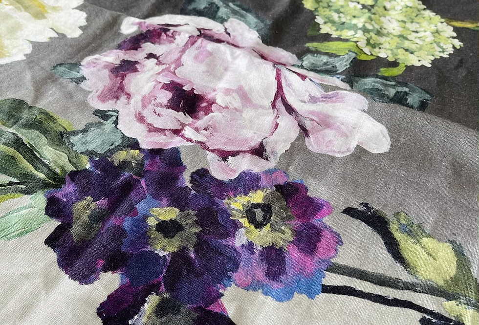 Designers Guild Alexandria Floral Linen Fabric