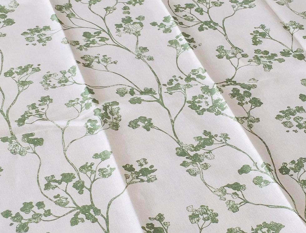 Ian Mankin Kew Nordic Peony Fabric