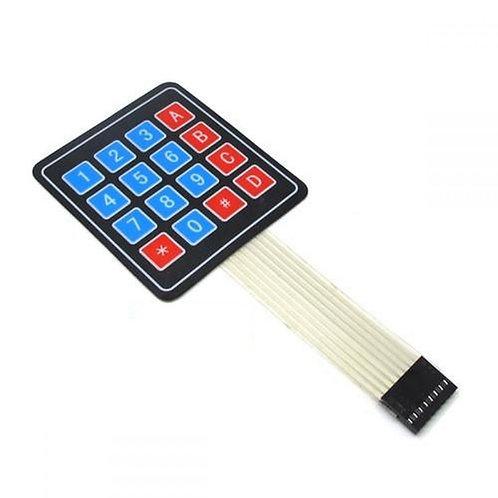 4x4 matrix membrane keypad