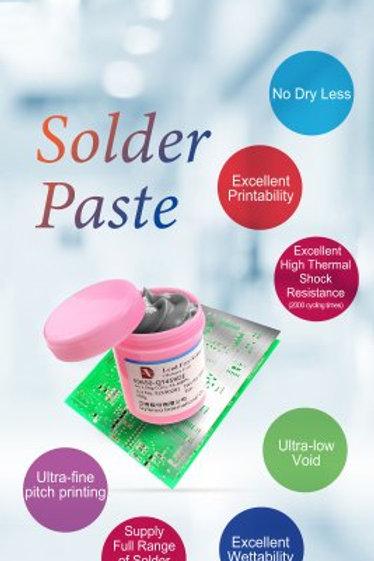 Dyfenco HI-Q Solder Paste SAC0307-QT459DE-T4 Halogen free solder paste
