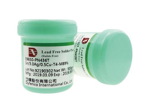 Dyfenco HI-Q Solder Paste E9650-PN436T-T4 Lead free solder paste