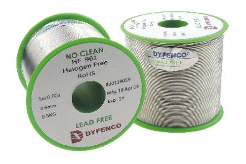 Dyfenco HI-Q Solder Wire HF961 E9650 LeadFree Solder Wire
