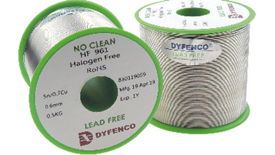 Dyfenco HI-Q Solder Wire HF961 D9930C LeadFree Solder Wire