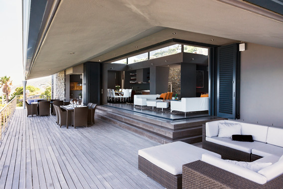 modern balcony furniture