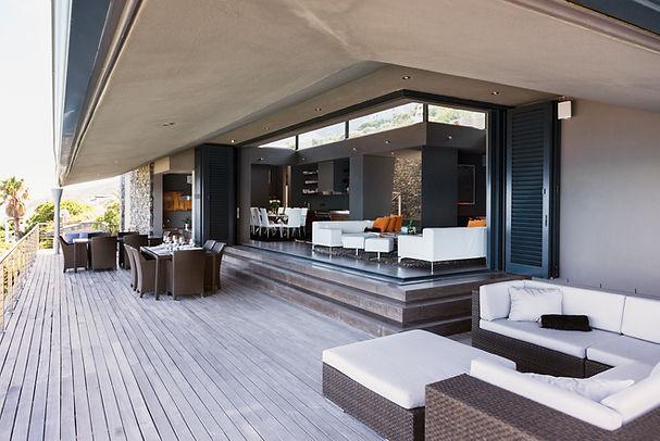 mobilier de balcon moderne
