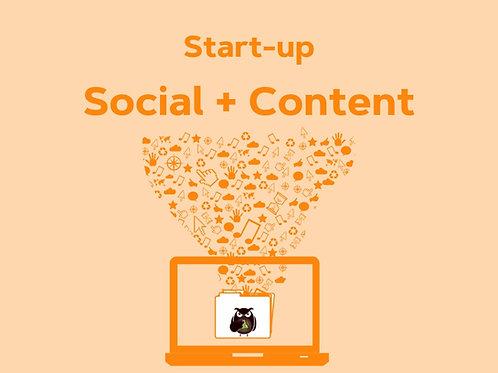 Start-up Social + Content