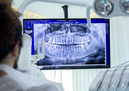 dental volumetric tomography
