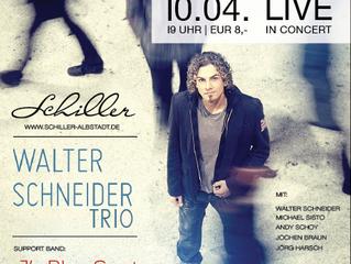 Do. 10.04. - Walter Schneider Trio & J's Blue Spot - Live in Concert