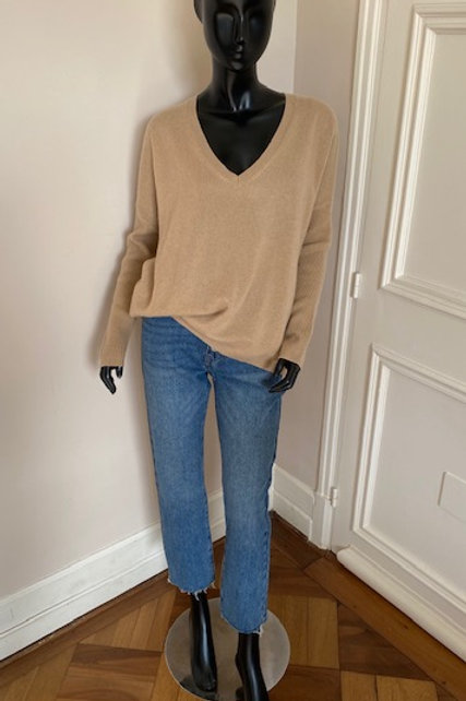PULL CASHMERE MONJAK BEIGE
