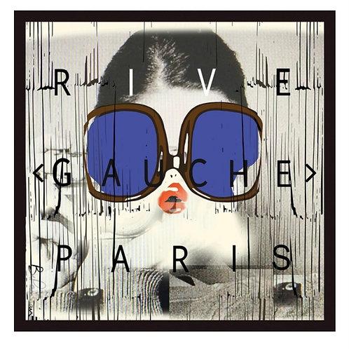 CARRE RIVE GAUCHE BLEU 90 BE PARISIAN