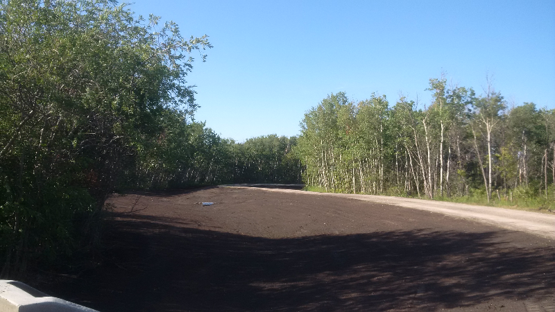 Lazer Graded Ditches