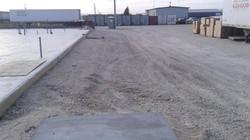 Gravel placing