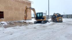 Breaking of Frozen Ground