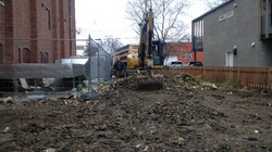 Commercial site cleanup