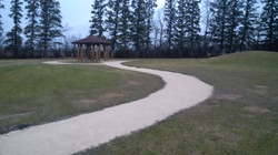 Walkways and Berms