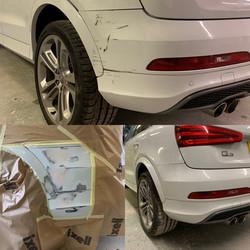 Audi Q3 Rear Bumper Repair