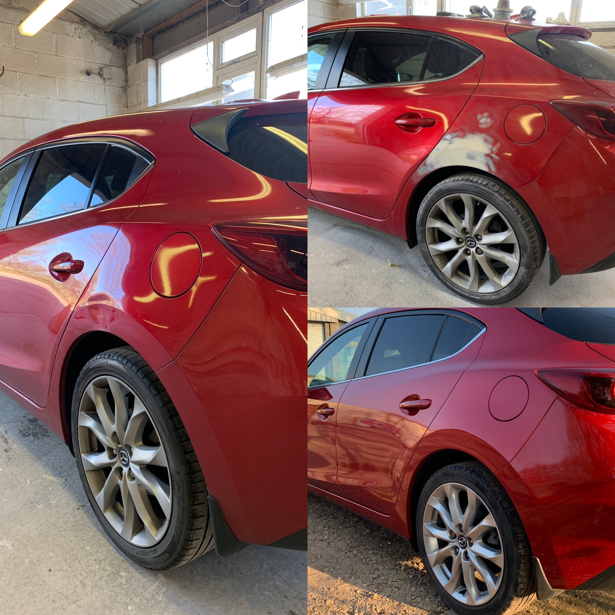 Mazda 3 Dent Repaired & Painted