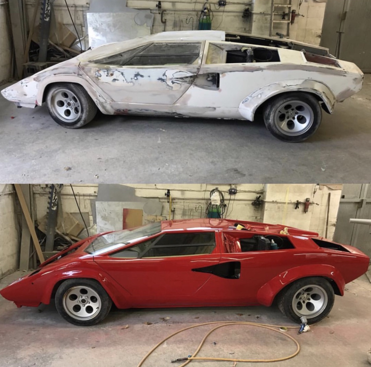 Lamborghini Countach Full Respray