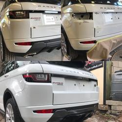 Range Rover Tailgate & Bumper Repair