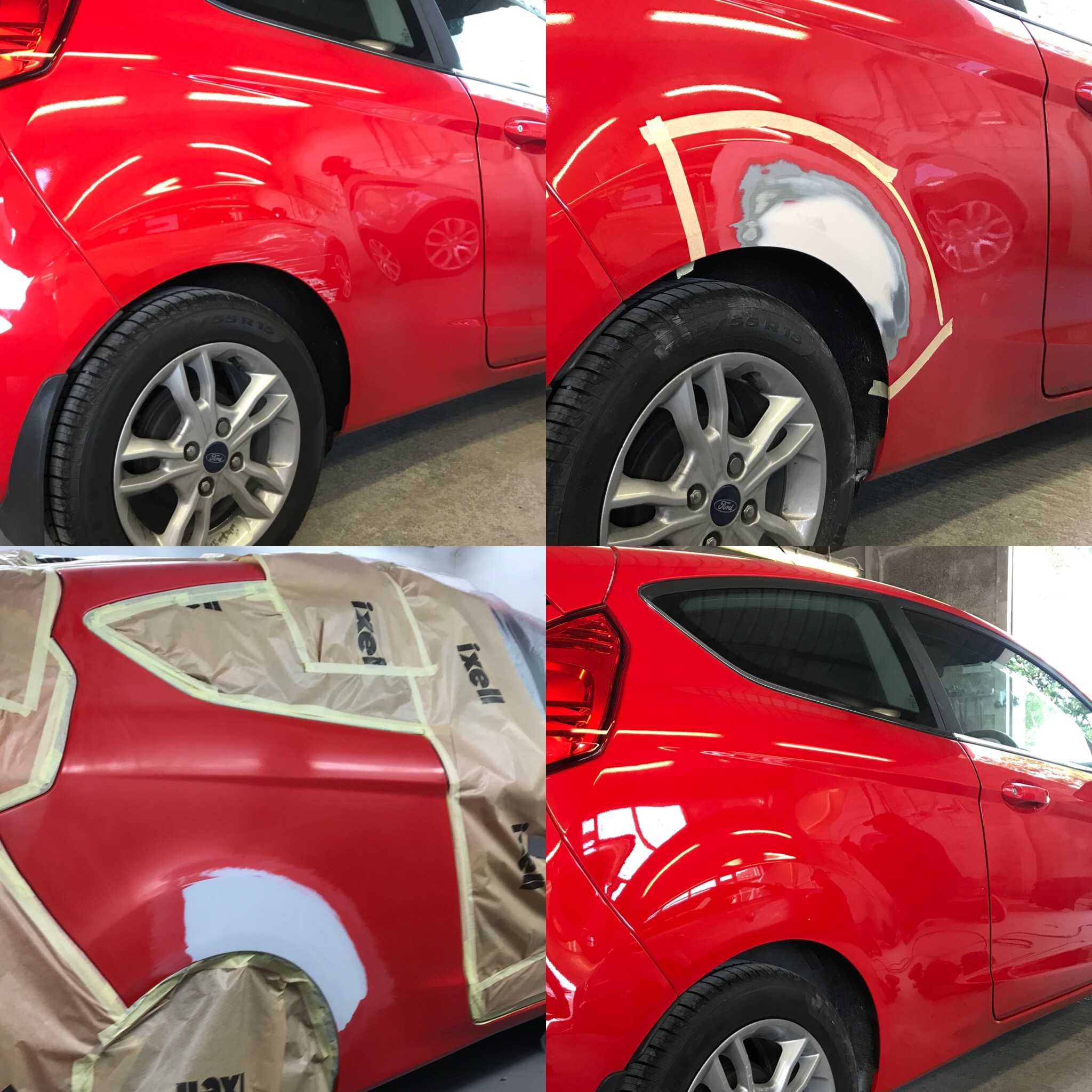 Ford Fiesta Dent Repair
