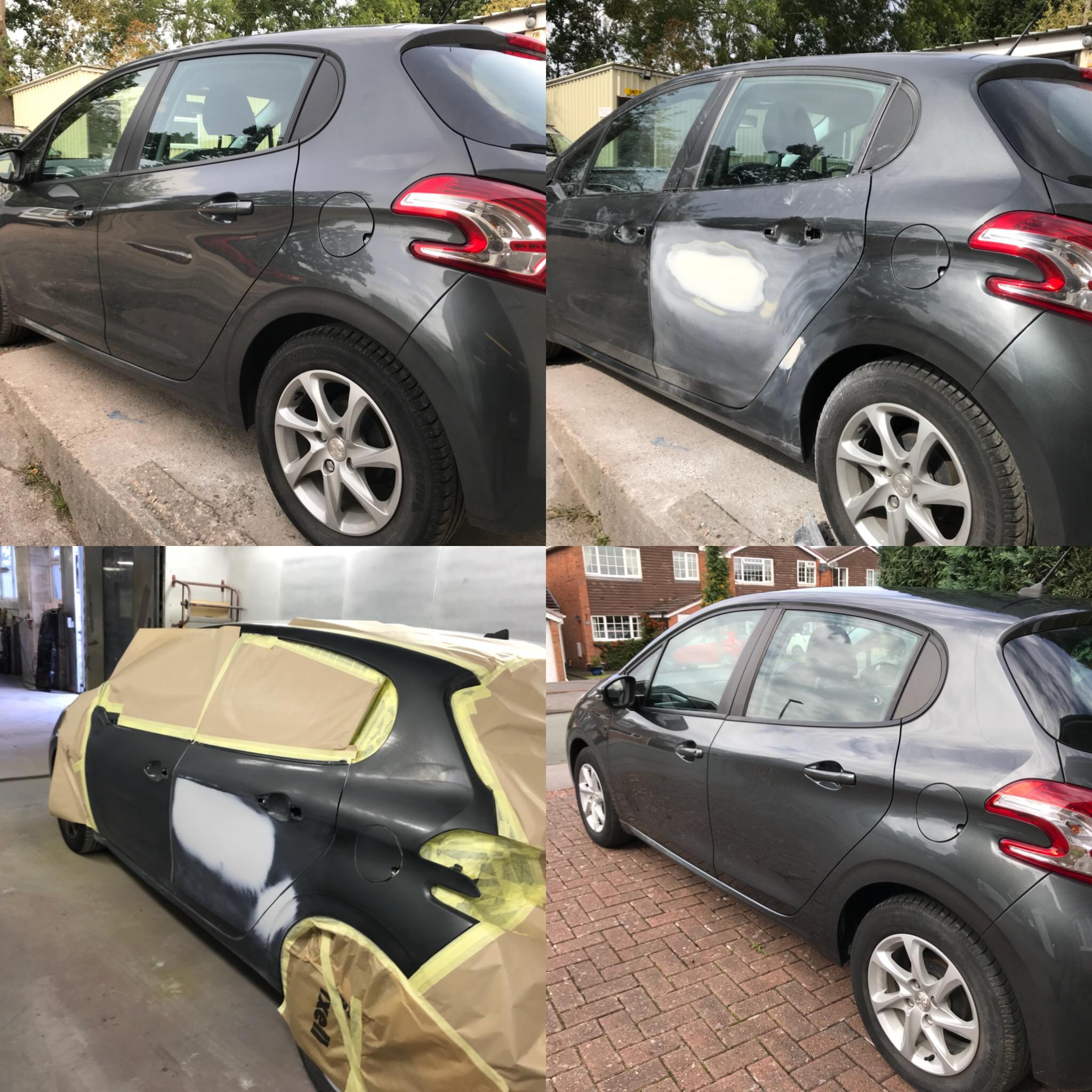 Peugeot 208 Door Dent Repair