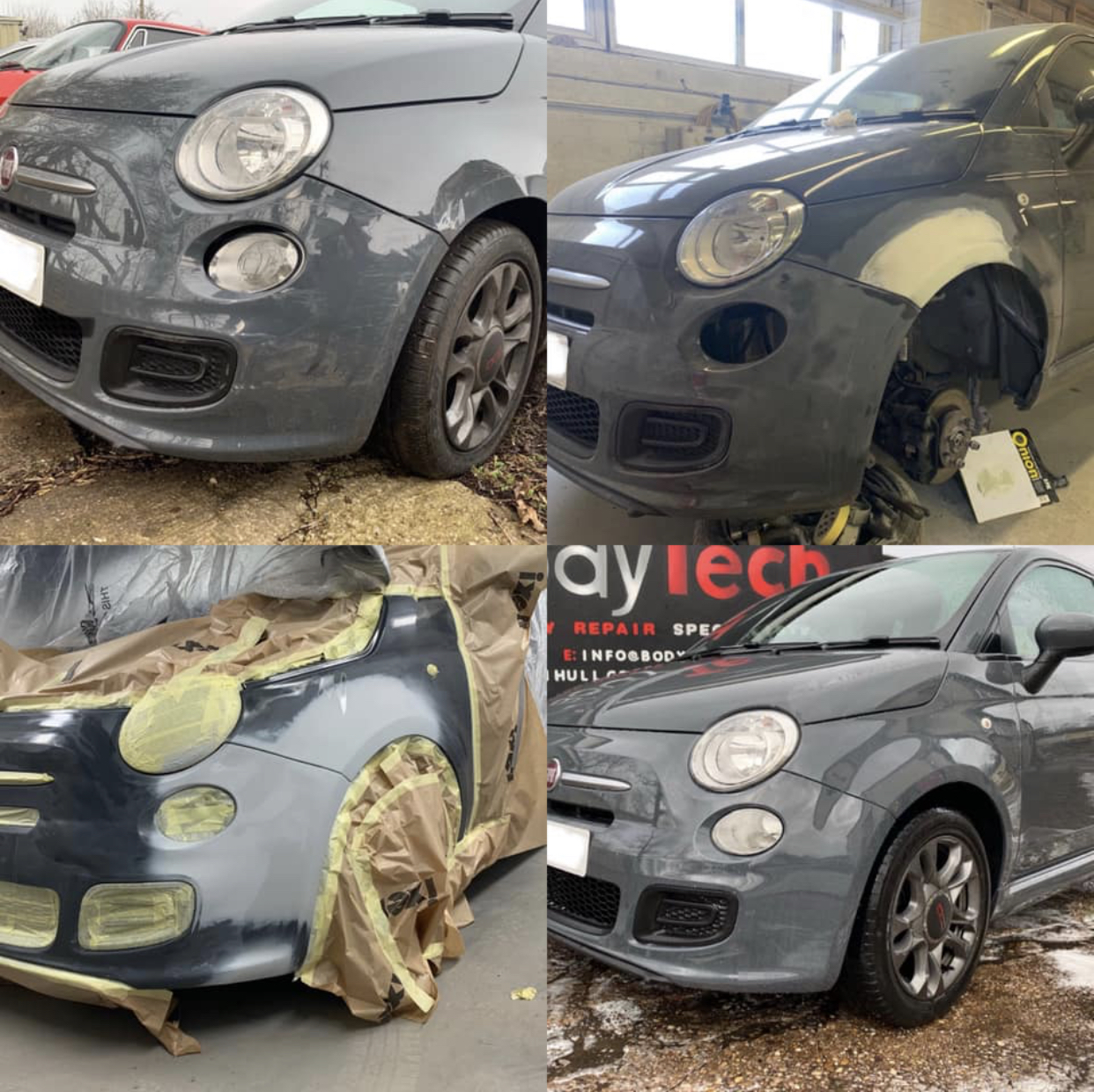 Fiat 500 Dent Removal