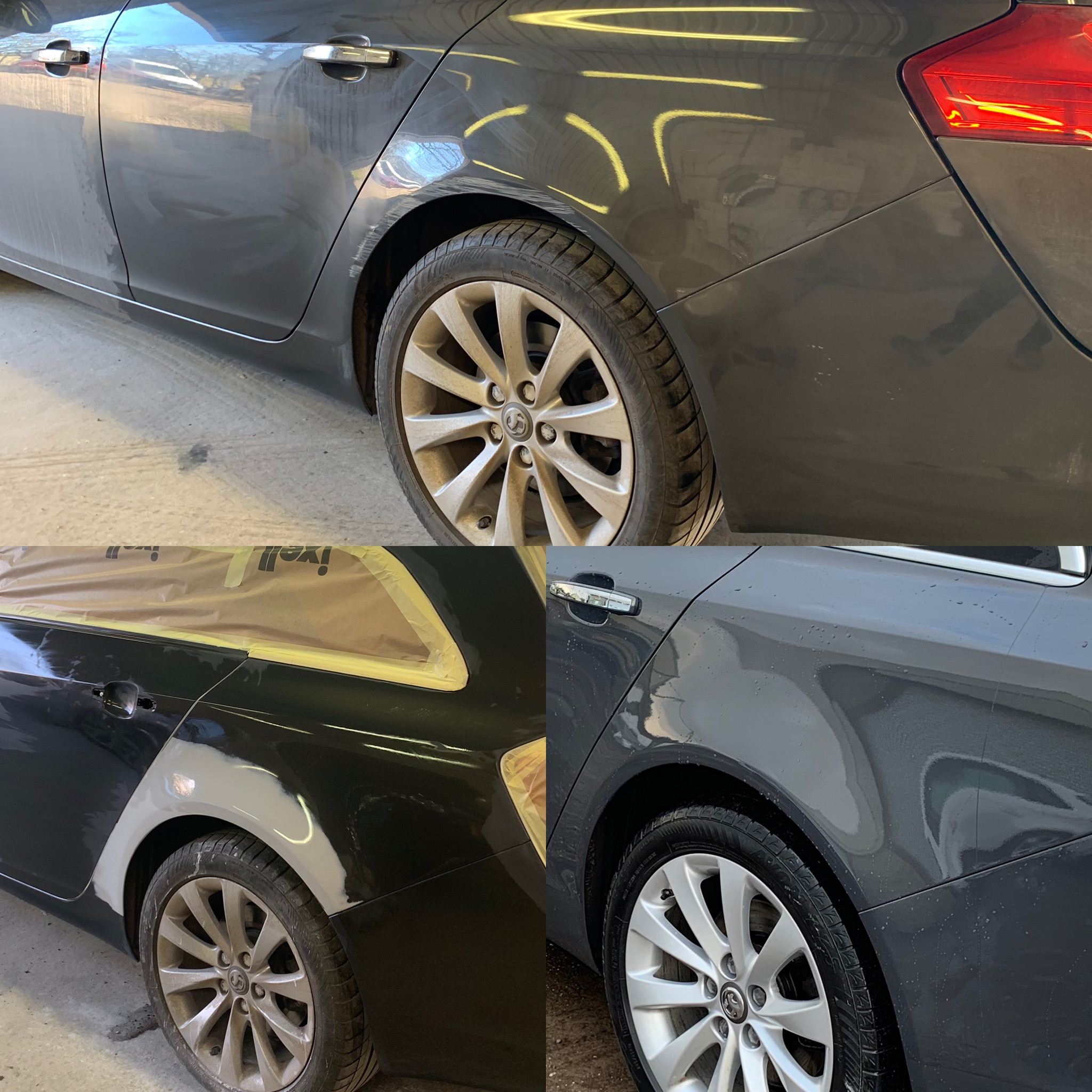 Dent Repair At BodyTech Solihu