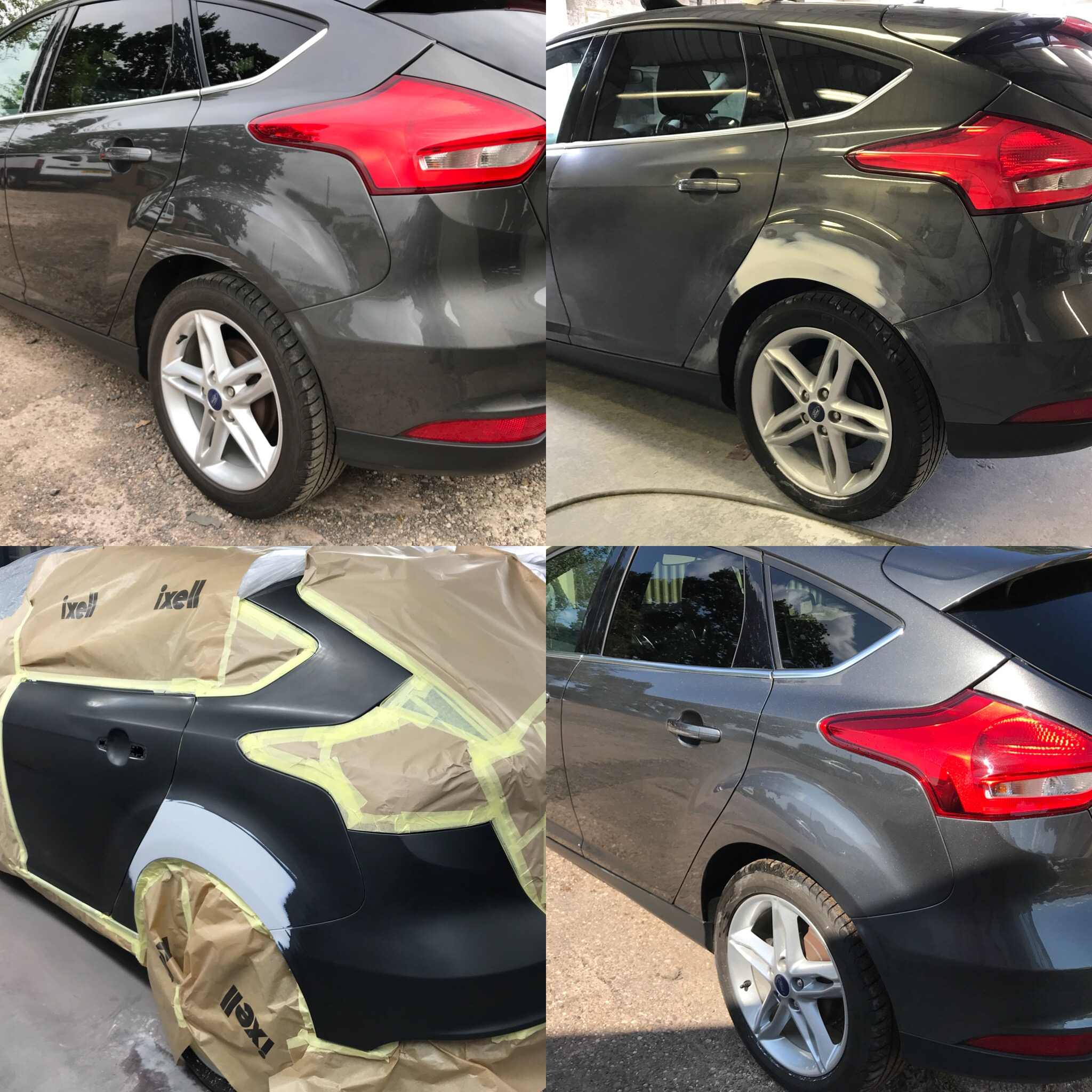 Ford Focus Dent Removal & Paint