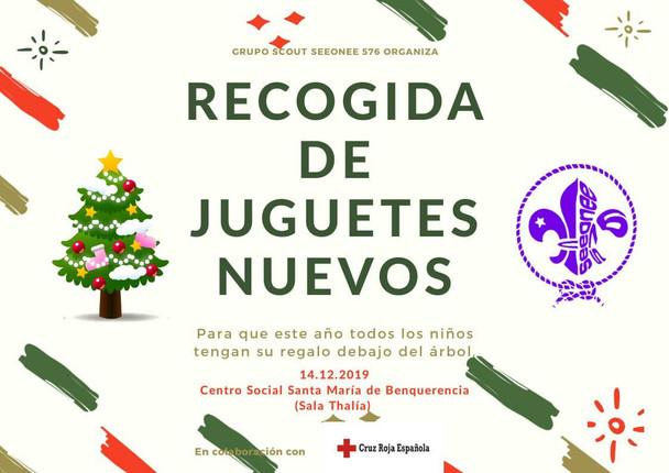 El Grupo Scout Seeonee habilitará un punto de recogida de juguetes para Cruz Roja
