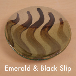 Emerald and Black Slip