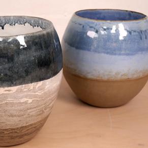 Coiled Dip Glazed Pots Linda Walmsley_edited.jpg